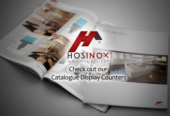 catalogue display counters hosinox